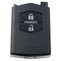 Flip key case with 2 buttons for MAZDA