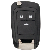 Flip key with 3 Buttons for  OPEL / Vauxhall (433 MHz)