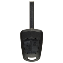 Remote Shell with 2 Buttons and HU100 Blade for Opel