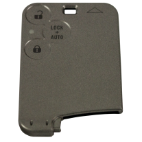 3 buttons empty housing Smart Card without logo for Renault