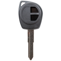 Key shell with 2 Buttons and Hu133R key blank for Suzuki