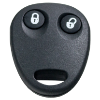 key shell with 2 buttons for VW (external remote)