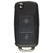 Flip key Shell with 2 Buttons and Head for VW/ SKODA / SEAT