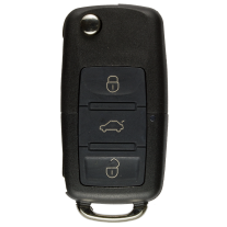 Flip key Shell with 3 Buttons and Head for VW/ SKODA / SEAT
