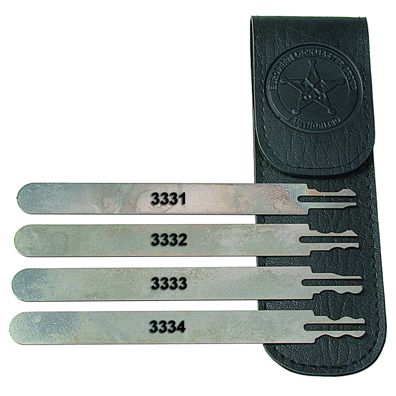 "LOCKMASTER® Pick Set ""Double-Sided"""
