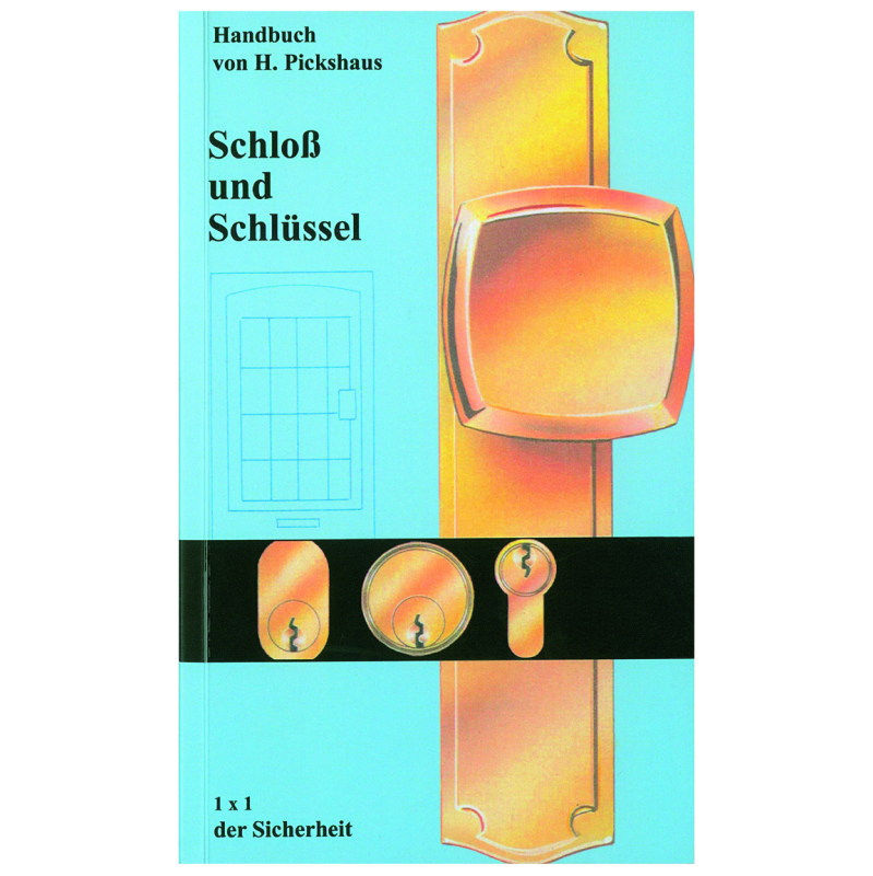 """Book """"Schloß und Schlüssel"""", Heinz Pickshaus, German"""