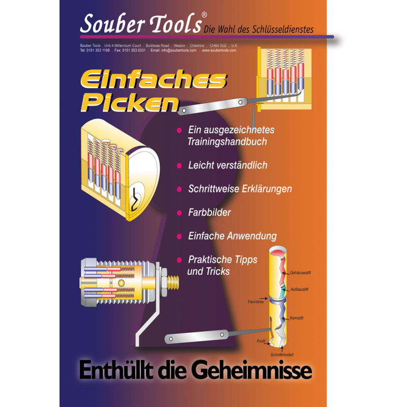 "Book ""Einfaches Picken"", german version"