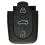 Remote Shell with 3 Buttons for AUDI (2 batteries)