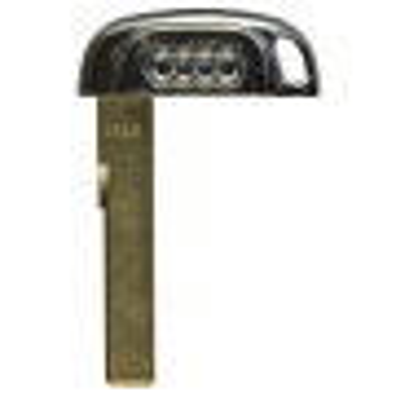 Emergency key for Audi  Key less