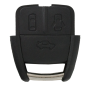 Remote Shell with 3 buttons for OPEL (width version new)