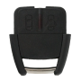 Remote Shell with 2 buttons for OPEL (width version new)