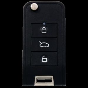 Silca Universal Fernbedienung CIRFH3 für Fahrzeuge inklusive Transponder (passend für Citroen, Honda und Peugeot)