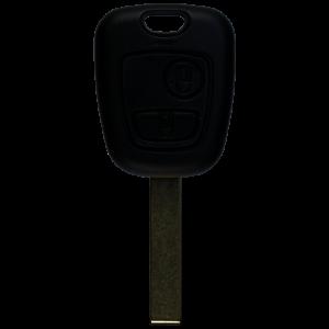 Schlüsselhülle mit 2 Tasten für Peugeot HU83