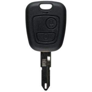 Key shell with 2 buttons for Peugeot NE73