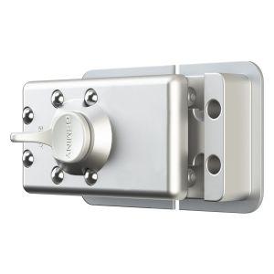 DRUMM / GEMINY Transportersicherung 2er Set gleichschließend, Velourschrom (insgesamt 3 Schlüssel)