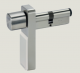 Mechatronic cylinder for E-module type 1448 euro profile
