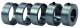 Distanzring-Set für Traingsboard, Bestell-Nr. 24002