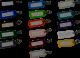 Schlüsselanhänger mit Schlitz (100 stück)