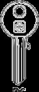 Schlüsselrohling AB2 - Stahl