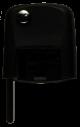 Flip key head angular for AUDI without Transponder
