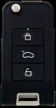 SILCA remote car keys CIRFH3 - universal remote for cars including transponder for Citroen, Honda, Peugeot