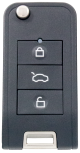 SILCA remote car keys CIRFH7 - universal remote for cars including transponder for Honda