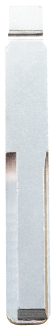 Flip key blade with HU43 profile