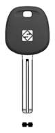 SILCA Autoschlüsselgehäuse HYN20BTE für KIA / Hyundai