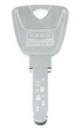 KESO 4000Ω long key (for purchase with KESO locks)
