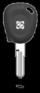 SILCA Autoschlüsselgehäuse NE89RTE für Renault / Dacia