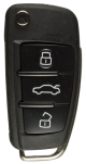 Flip key with Remote (433Mhz) for Audi