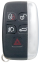 Smart Card für Landrover 4+1 Knopf