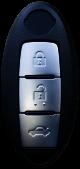 Smart Card für Nissan 3 Tasten 433 Mhz