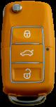 Schlüsselgehäuse für Volkswagen mit 3 Tasten