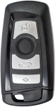 4 button key shell for BMW F series (black)