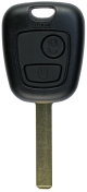 Key case with 2 buttons for Citroen with VA2 profile