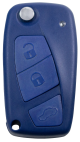 3 Tasten Leergehäuse für Fiat mit Batteriefach