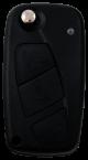 Leergehäuse 3 Taster mit SIP22 Rohling für FIAT