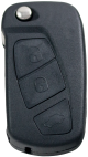Key Shell flip key with 3 button for FORD newer models