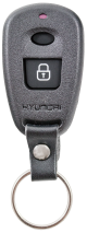 Key shell with 2 buttons for Hyundai