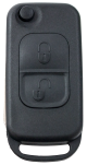 Flip key Shell with 2 buttons for Mercedes Benz Infrared key HU64
