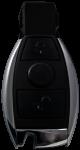 Key shell for Mercedes Benz Chrome Infrared keys
