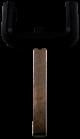 Wide key head for OPEL remote control key (HU100 profile)