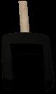 Narrow key head for OPEL remote control key (HU43 profile)