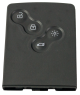 Schlüsselkarte für Renault (433 MHz) Megane III / Fluence / Laguna III