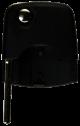 Flip key head for VW