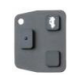 Silca Rubber Replacement Button for TOYOTA, TOYOTA JAPAN, TOYOTA USA