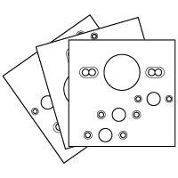 Magnetic Drill Templates
