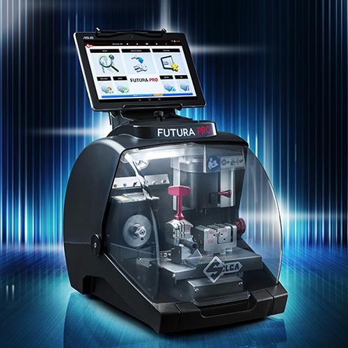 SILCA® Futura - DIE moderne Schlüsselkopiermaschine für die gängigsten Schlüsselstypen!