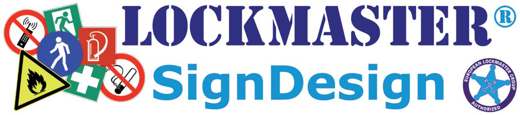 Lockmaster Sign Desgin